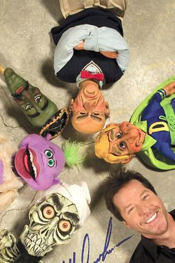 Jeff Dunham and we could tag some of these as family members. Say Tony as Walter and Kris as Peanut. Three kids left who matches who? Lol