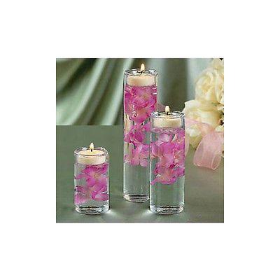 Glass-Cylinder-Tealight-Holder-Set-of-3-Ceremony-Vase-Wedding-Centerpiece