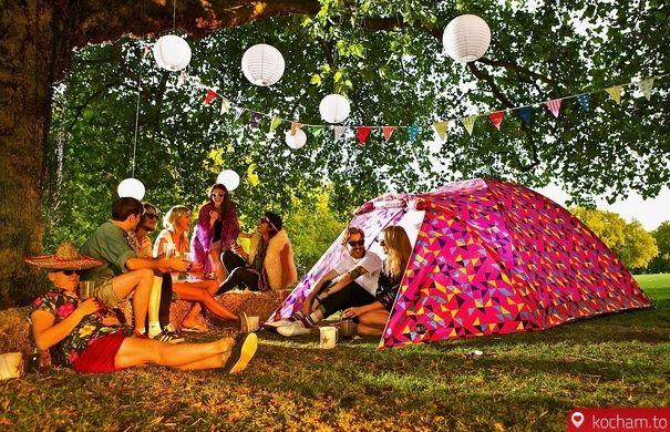Kocham.to - Namiot z zasilaniem słonecznym Woodstock