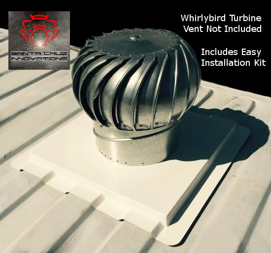 Shipping Container Premium Whirlybird Roof Vent Mount | Our Shipping  Container Whirly Bird Vent Mount | Pinterest | Roof Vents, Container  Buildings And ...