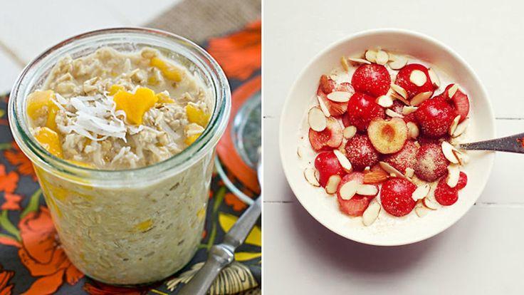 Kjøleskapsgrøt: Fem frokoster som lager seg selv over natten