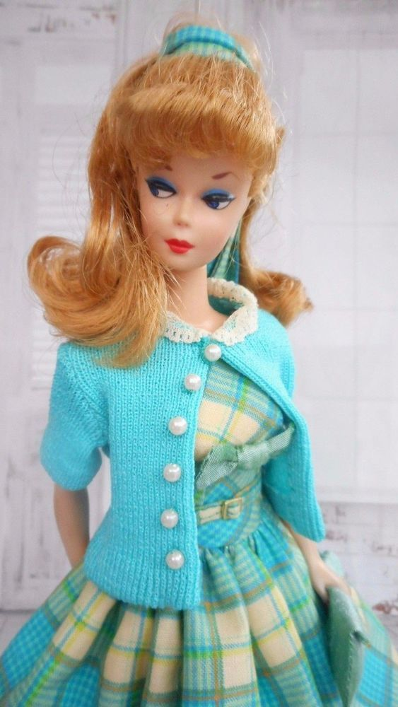 "OOAK Silkstone Vintage Barbie Handmade 12"" Fashion Royalty Poppy Parker  /Mary   #Unbranded"