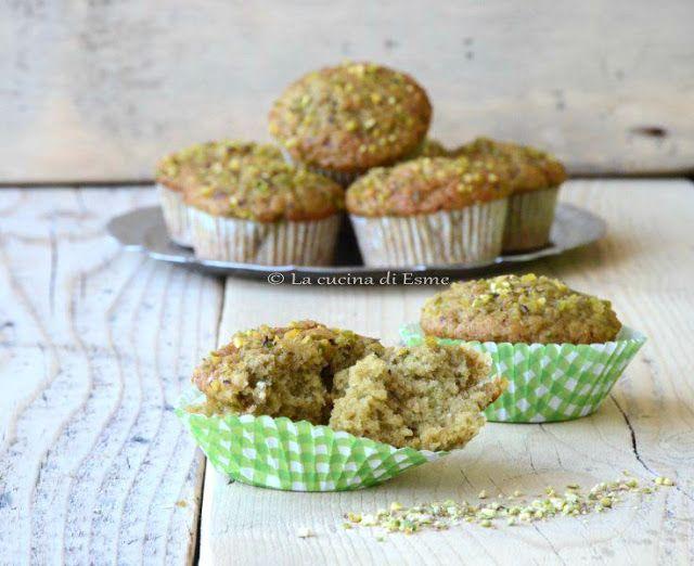 La cucina di Esme: Muffin alla crema dolce di pistacchio di Bronte .....