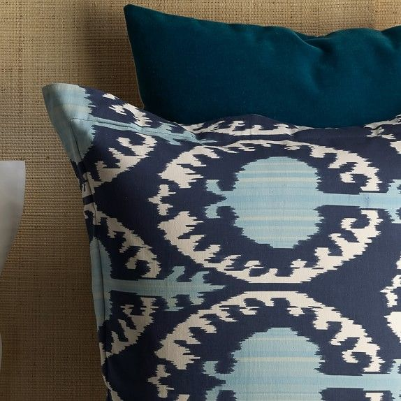 Printed Marrakesh Ikat Bedding | Williams-Sonoma