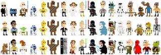 star wars - cross stitching or fuse beading