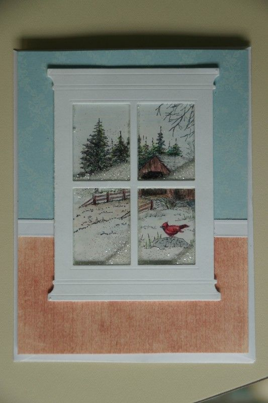 window card by maureenjs - Cards and Paper Crafts at Splitcoaststampers