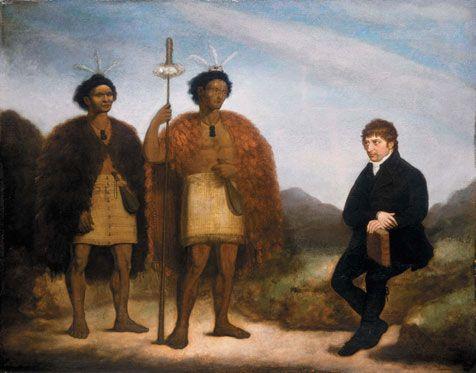 Te Papa Museum: Missionaries.