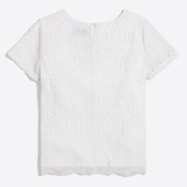 lace t-shirt : factorywomen shirts & tops