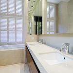 Bathrooms Limestone Bathroom Modern Tiles Mirror