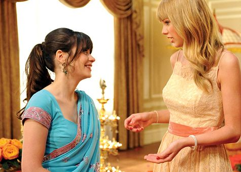 Taylor Swift on the 'New Girl' Season Finale!