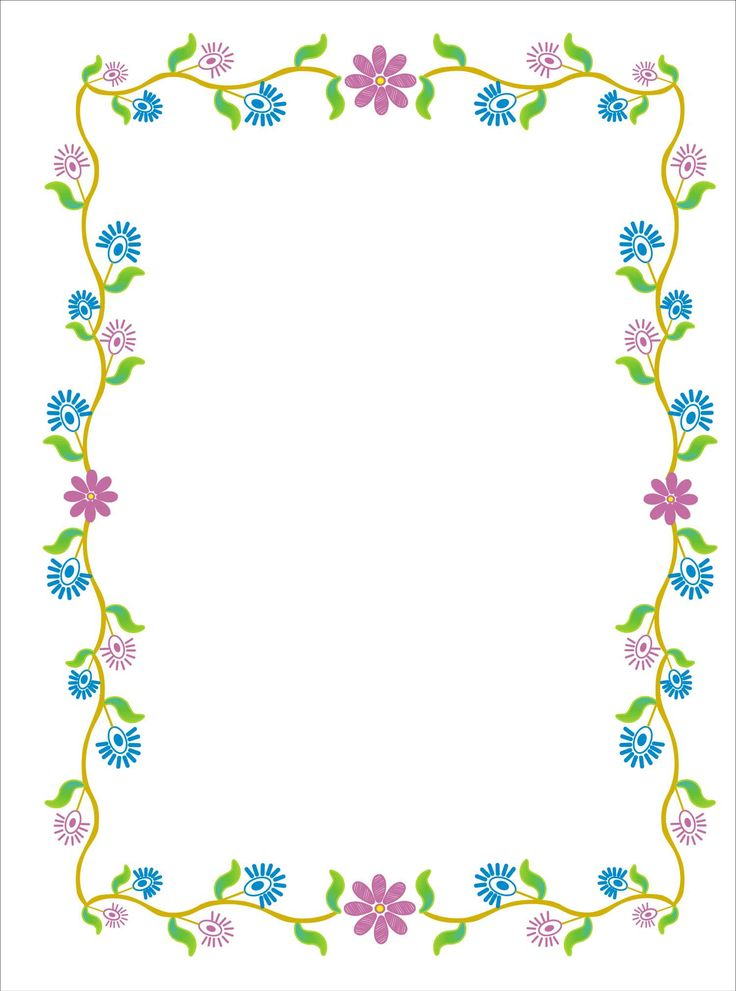 """Floral illustrated"":  ""Flowers along the vine"""
