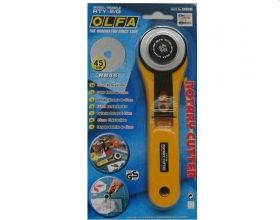 Cutter Olfa RTY - 2G - 45 mm - Materiale textile online