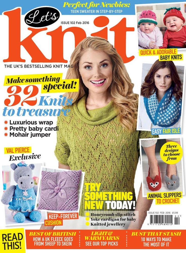 Lets Knit  February 2016 - 轻描淡写 - 轻描淡写