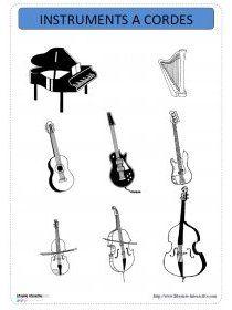 Librairie-Interactive - Imagier thématique des instruments de musique