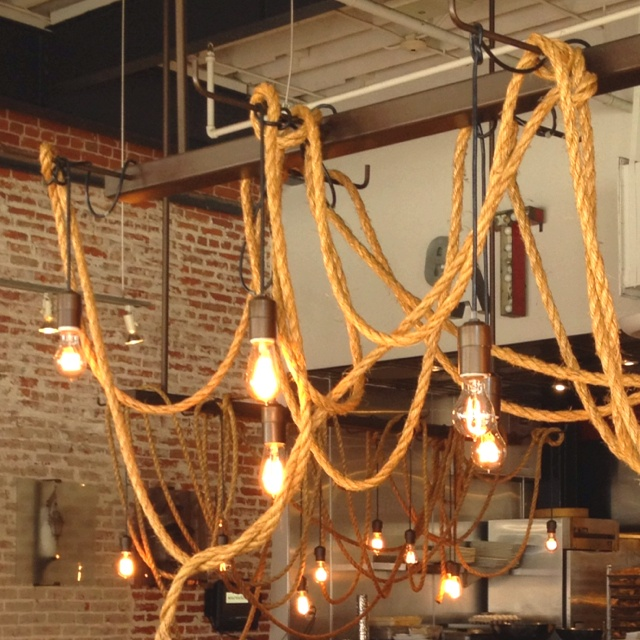 Rustic rope lights lighting pinterest more rope for Rope designs and more