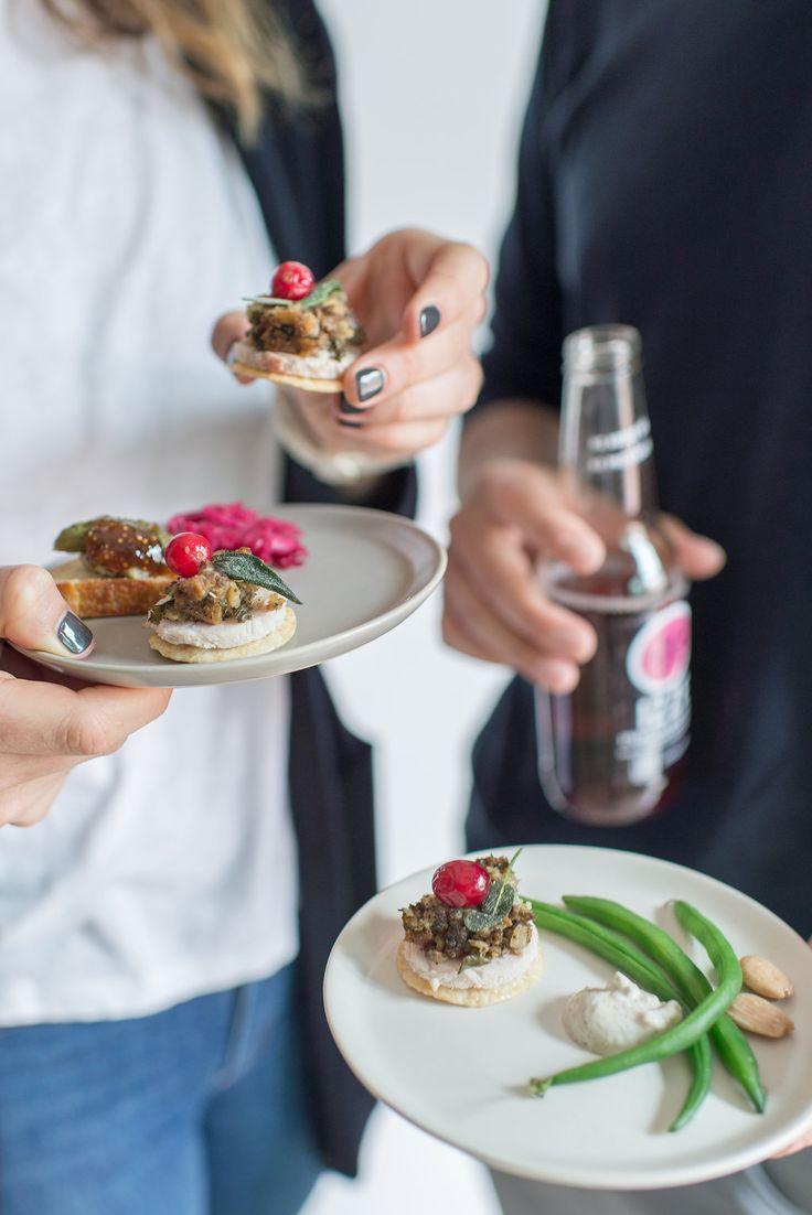 friendsgiving ideas + thanksgiving appetizers via Anne Sage