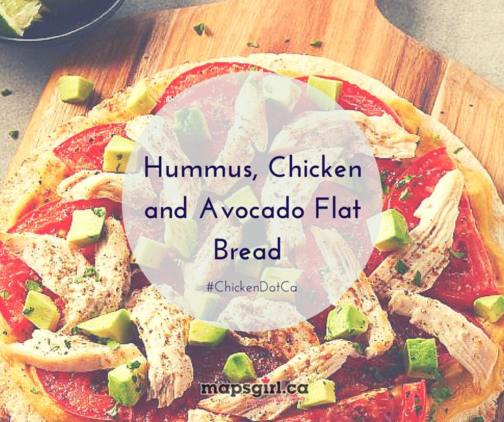The Shopping App from Chicken Farmers of Canada makes shopping so much easier! See how I used it to prepare to make the Hummus, Chicken and Avocado Flat Bread recipe. ChickenApp