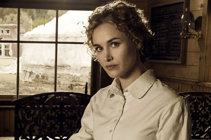 Dominique McElligott Hell On Wheels | hell on wheels star dominique mcelligott will play a lead role in the ...