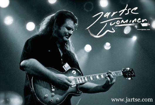 Jartse Tuominen. Guitar king from Finland!