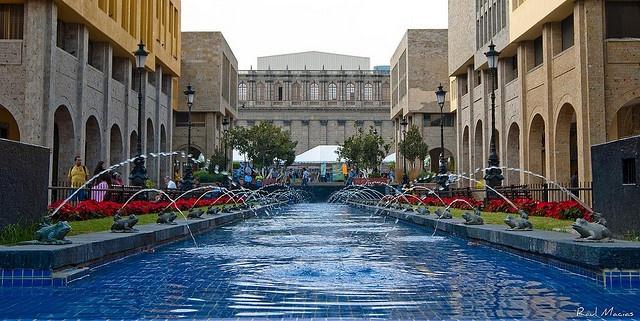 Plaza Tapatia Centro Guadalajara Jalisco Mexico By