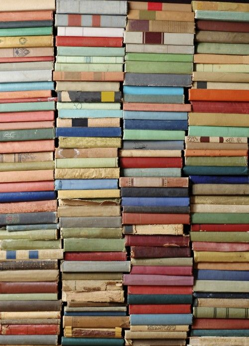 #thinkcolorfully stack after stack after stackDesign Pattern Texture, Beautiful Book, Colors Book, Book Book, Vintage Book, Vintage Pattern, Book Collection, Book Stacked, Old Books