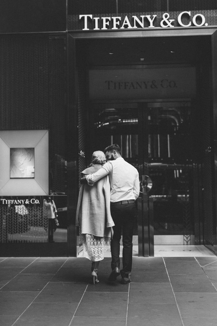 a Tiffany's engagement