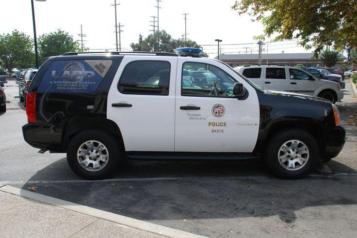 https://flic.kr/p/ded1eN | LAPD | Los Angeles Police Dept. GMC Yukon SUV.