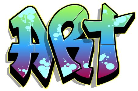 COOL SITE...create your own graffiti words...=} | Art Club ...