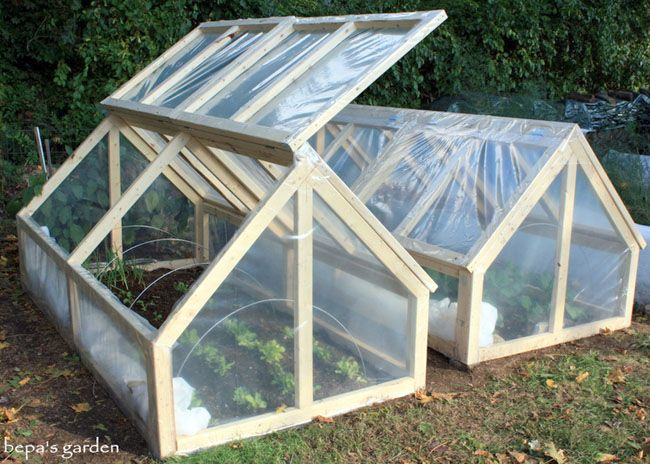 21 DIY Greenhouses with Great Tutorials - A Piece of Rainbow (Diy Garden Plants)