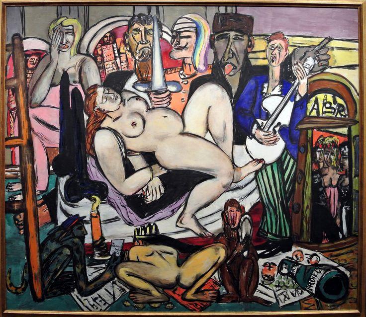 https://flic.kr/p/Qc7FKJ | NYC - Metropolitan Museum of Art - Max Beckmann in New York
