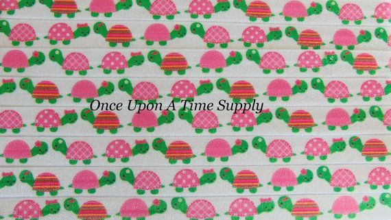 Hey, I found this really awesome Etsy listing at https://www.etsy.com/listing/453385822/turtle-print-fold-over-elastic-for-baby