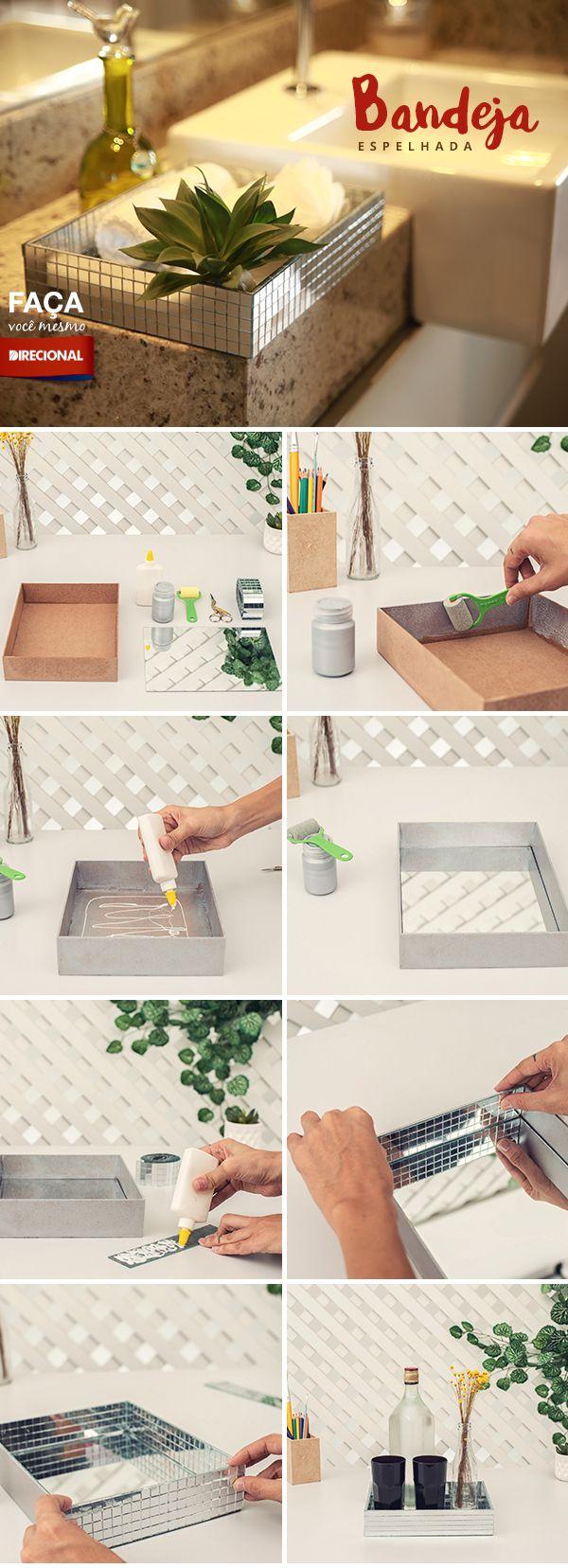 Moderna, versátil e pode decorar qualquer lugar da sua casa! Por isso, o Faça…