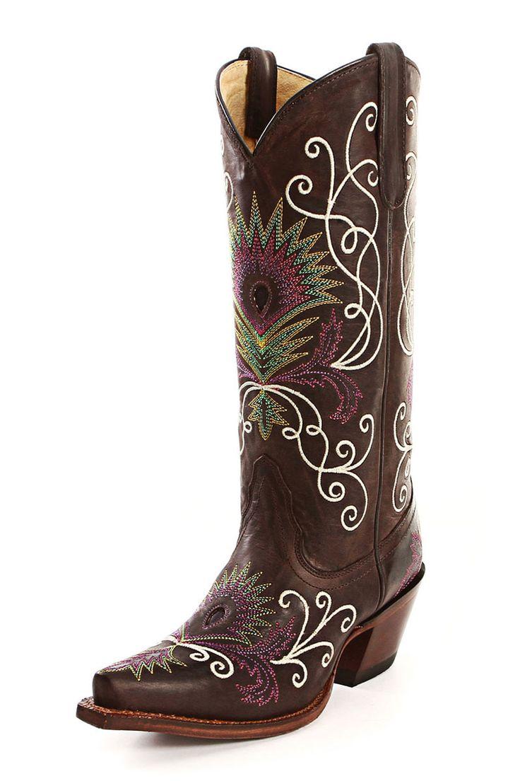 Tony Lama Boots Women's Vaquero Espresso Cowgirl Boots