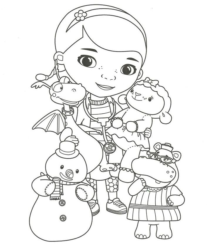 photo about Doc Mcstuffins Printable Coloring Pages known as Document McStuffins Coloring Internet pages Disney sketches Document