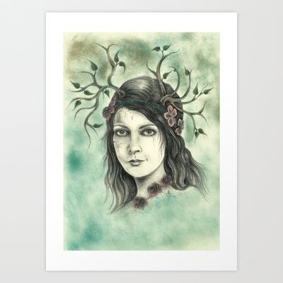"""""""Quiet before the Storm"""" Art Print by Magdalena Sky - $22.88"""