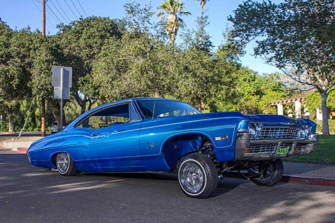 THE PROMISE OF A '68 IMPALA OF HIS OWN