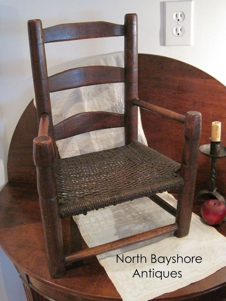 best  about Primitive Little Chairs on Pinterest