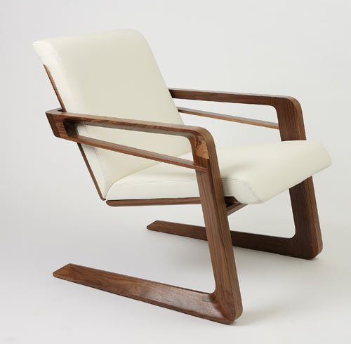 """Nice, clean lines. I like it. """"The Airline 009 Chair, originally one of Walt Disney's favorite chairs, has been reimagined by designer Cory Grosser for the Walt Disney Signature Line."""""""