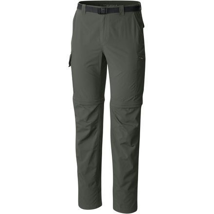 Columbia Silver Ridge pants.  Color: Gravel.  Size: 36x32.  These are non-cotton pants for backpacking... super fast drying.
