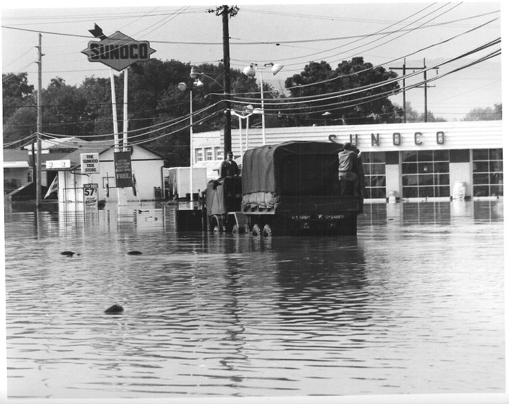 The Sonoco Filling Station 1975 Eloise Flood 1975. Near Dundee Gardens Sansouci Highway.