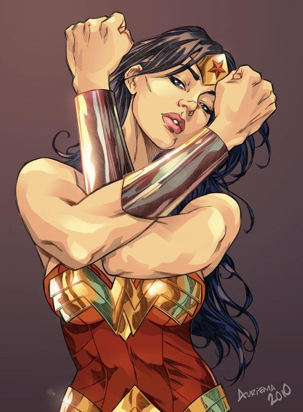Wonder Woman - color by bauriema.deviantart.com on @deviantART  More Comic Art @ http://groups.google.com/group/Comics-Strips & http://groups.yahoo.com/group/ComicsStrips ~Inge~ @ http://www.facebook.com/ComicsFantasy & http://www.facebook.com/groups/ArtandStuff