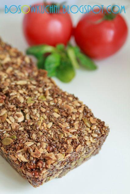 Gluten free Seed Bread / Chleb z ziaren bez mąki