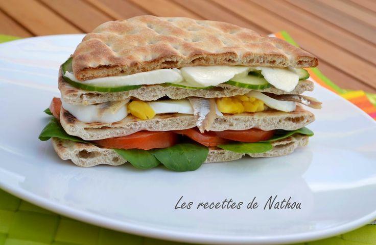 Les recettes de Nathou: Croques-Toasts-wraps-hamburgers