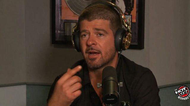 Robin Thicke hasn't seen Paula Patton in FOUR MONTHS!