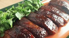 Use Cherry Coke, cherry wood and a Digital Electric smoker for a lot of flavor to country-style ribs.