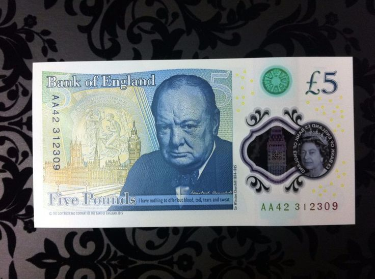AA £5 NOTE, RARE LOW SERIAL NUMBER. Mint Condition. AA42 Very sought after!