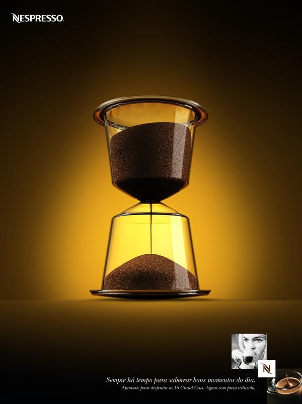 Propaganda da Nespresso.
