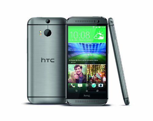 "HTC One (M8) - Smartphone libre Android (pantalla 5"", cámara 4 Mp, 16 GB, Quad-Core 2.3 GHz, 2 GB RAM), gris [importado]"