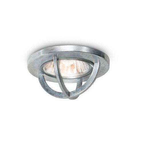 Plafonnier spot en métal galvanisé Chamonix