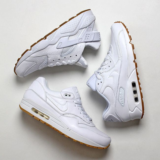 """6c1fc60b13fe Nike Sportswear """"White Ostrich   Gum"""" Pack"""
